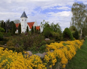 Brabrand Kirke forår
