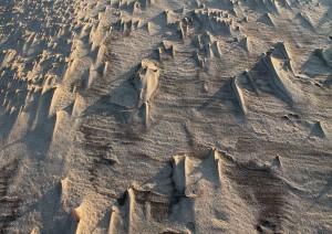Sandlandskab på Grenen v. Skagen